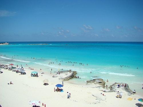 Playa Caracol-donde encontrar playas publicos en cancun