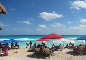 Playa Gaviota Azul-mejores playas en cancun