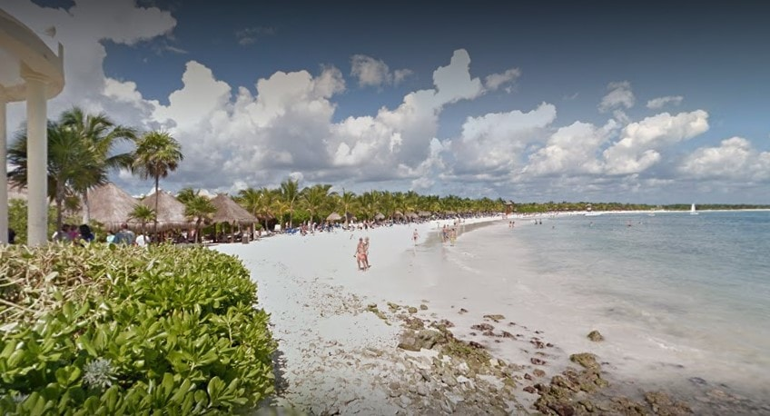 Playa Punta Nizuc-mejores playas publicos en cancun
