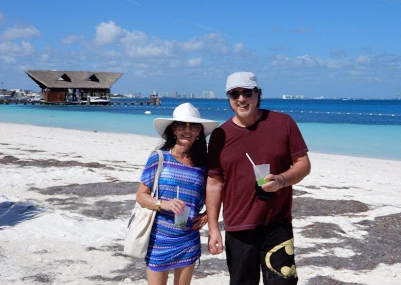 Playa Tortugas-donde encontrar playas publicos en cancun