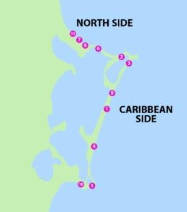 Playas Publicos en Zona Hotelera de Cancun