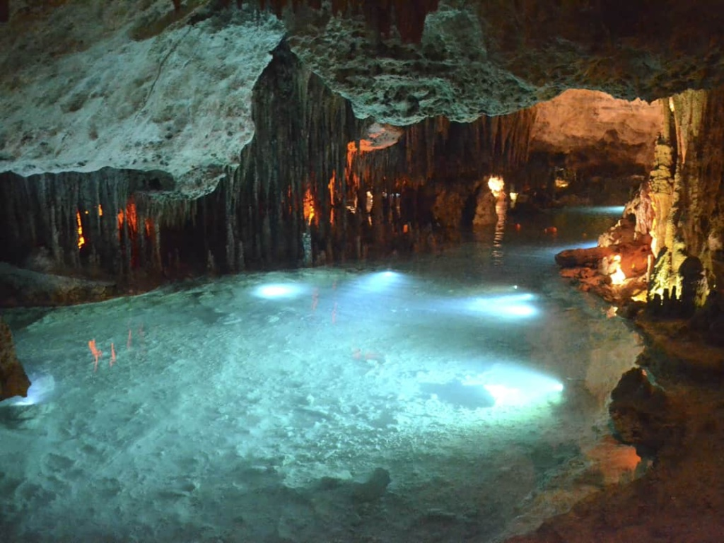 stalactites take millions of years to form
