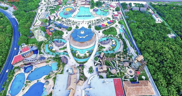 The Ultimate Amusement Park in Cancun