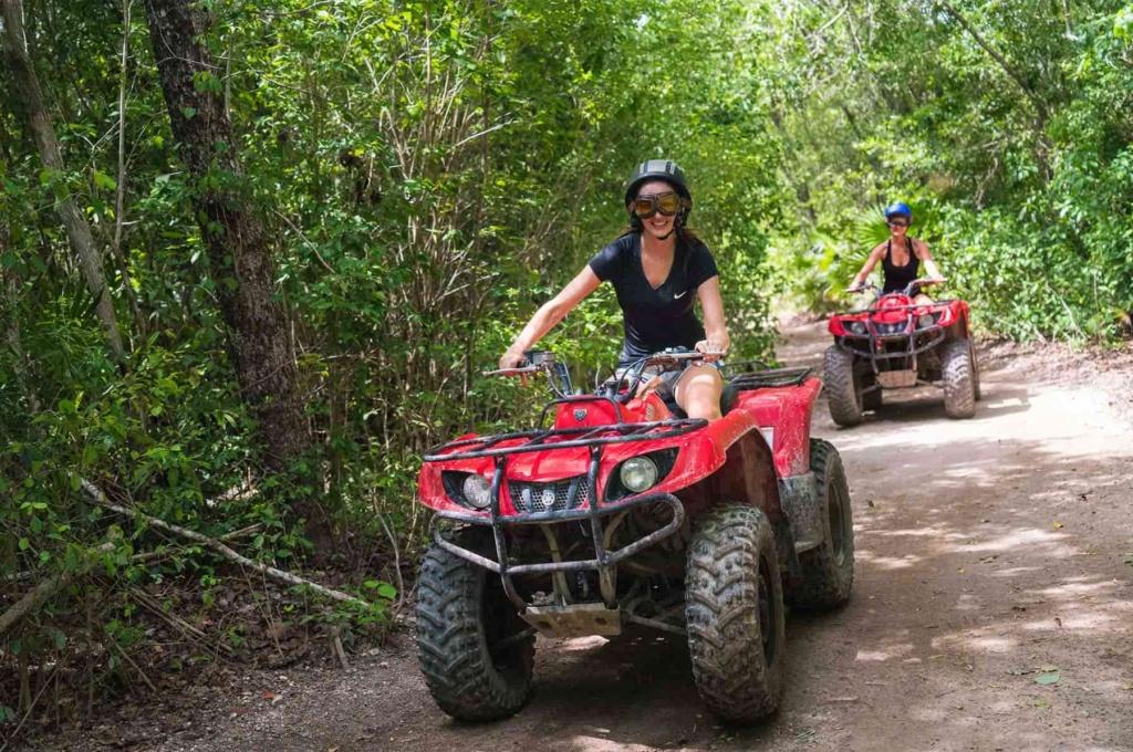 take an all terrain vehicle through the jungles