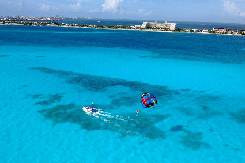 Crazy activities in Cancun