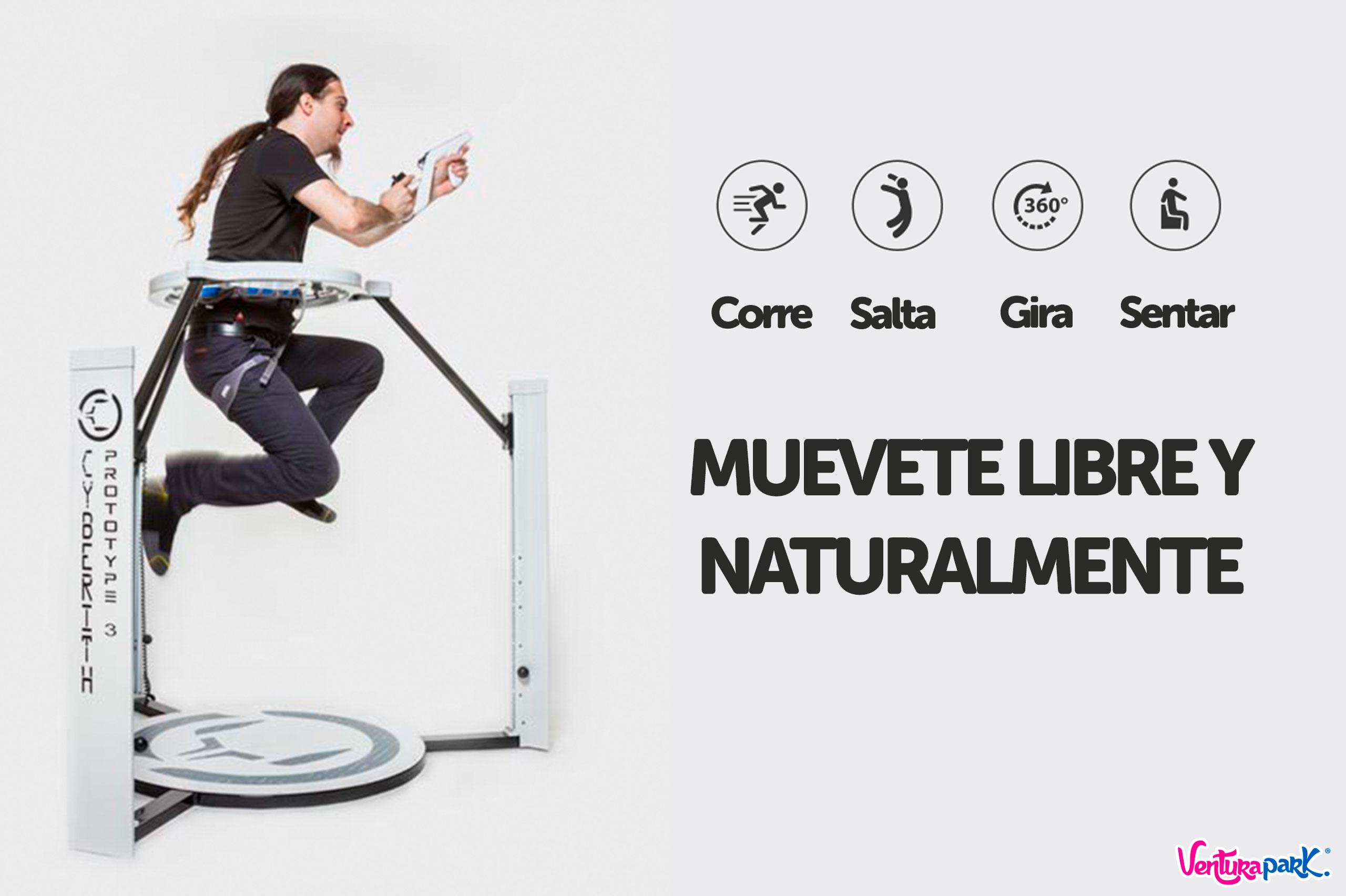 realidad virtual en ventura park