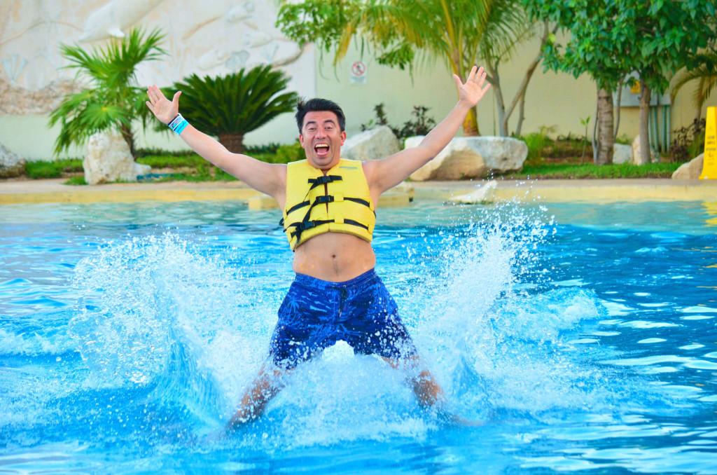 nadando con delfines es una gran experiencia