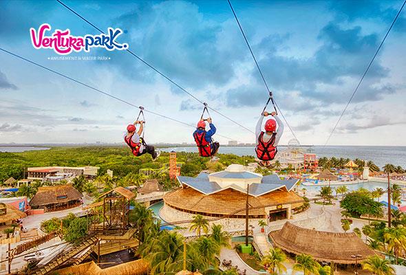 Parques familiares en Cancún 2018 Ventura Park