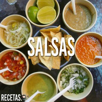 Salsa para auténticos tacos mexicanos