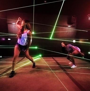 Laser Tanks