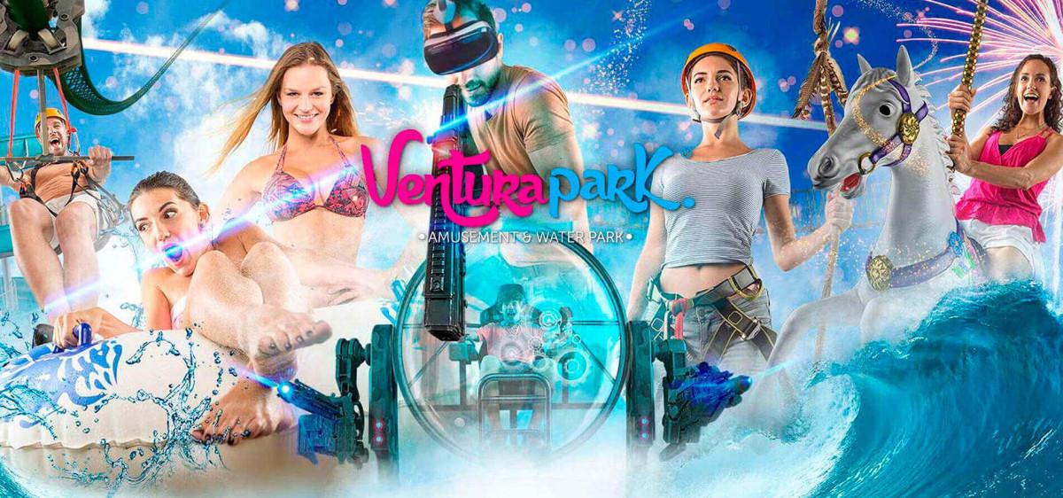 Family Fun: Aquatic and Amusement Park in Cancun.