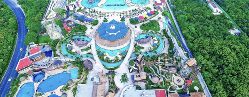 Diversión familiar: Parque acuático y de diversiones en Cancún.